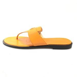 Orange  Salvatore Ferragamo Flip Flop