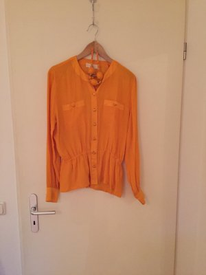 orange Seidenbluse von Escada Vintage