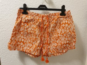orange Shorts von TCHIBO