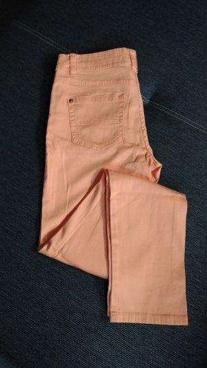 Vijfzaksbroek oranje-licht Oranje Katoen