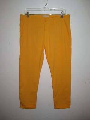 Orange Stefanel Chino Hose