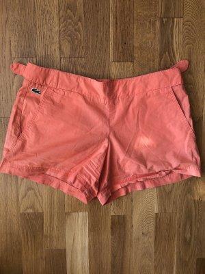 Orange super süße Shorts von Lacoste