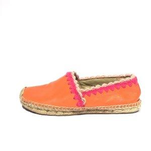 Orange  Tory Burch Flat