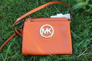 Michael Kors Borsa a spalla arancione scuro Pelle