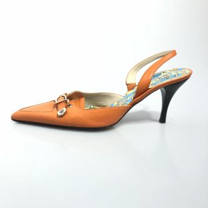 Orange  Versace High Heel