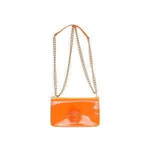 Orange  Versace Shoulder Bag