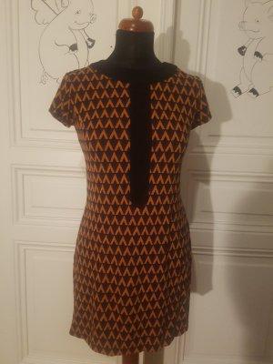 orange violettes Kleid von Piu Piu