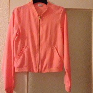 Orangefarbene Jacke von Pimkie