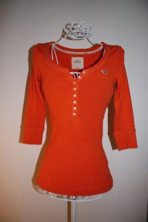 Orangefarbenes Longsleeve von Hollister