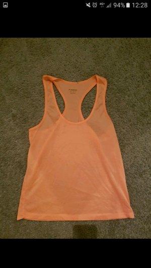 orangefarbenes Sporttop