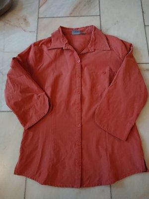 Orangene Bluse