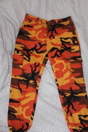Pantalon boyfriend multicolore