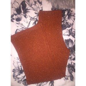 Zara Pantalone culotte arancione-albicocca