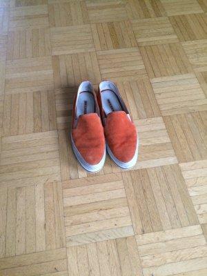 Prada Flats naranja