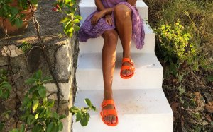 Asos Sandalias cómodas naranja-naranja claro