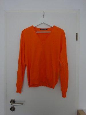 Orangener Pulli von Ralph Lauren