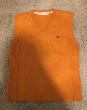 orangener Pullunder von Tommy Hilfiger