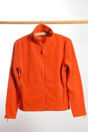 E.B. Company Giacca in pile arancio neon