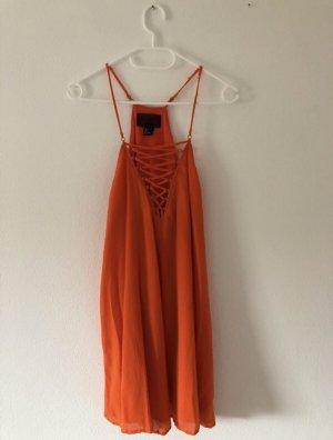 H&M Vestito da spiaggia arancione-arancio neon