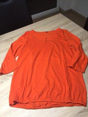Orangenes Shirt S.Oliver