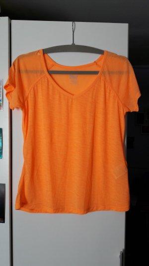 Orangenes Sportshirt