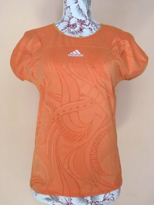 Adidas Sports Shirt light orange-orange