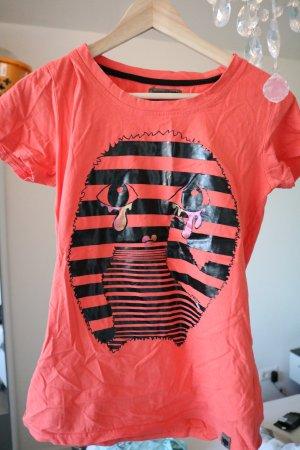 Orangenes T-Shirt von Nümph