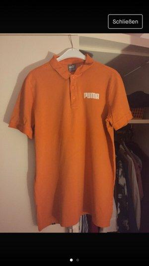 Orangenes t-shirt von puma