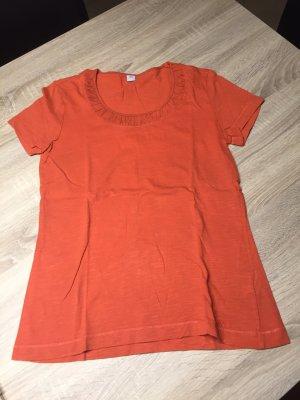 Orangenes Tshirt S.Oliver