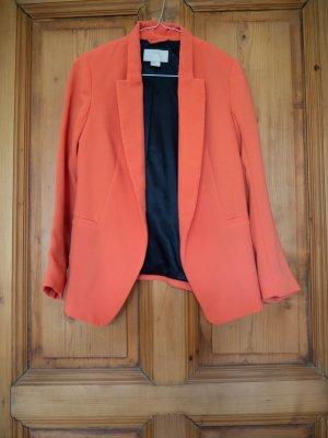 Oranger Blazer Größe 34
