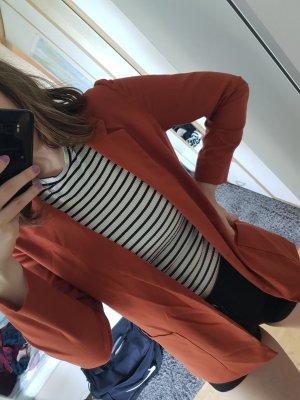 H&M Blazer long orange foncé