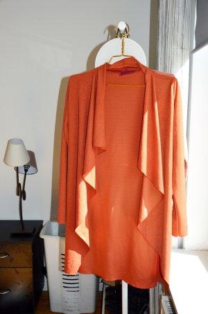 Oranger Cardigan Jacke von Boohoo - kaum getragen