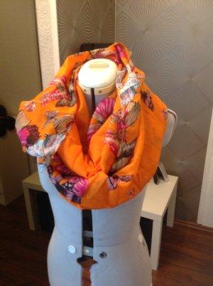 Oranger Schmetterlings Rundschal