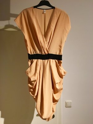 Oranges / apricotfarbenes Kleid, Vero Moda, Gr.38