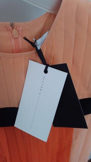 Oranges Kleid von Victoria Beckham