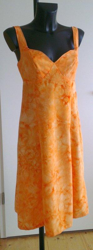 Midi Dress orange-light orange