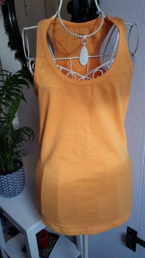 H&M Sporttop oranje-donker oranje
