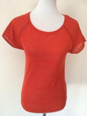 oranges T-Shirt von Orsay - Gr. S