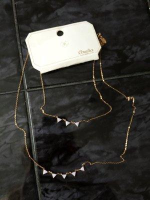 Orelia Halskette mit Dreiecken