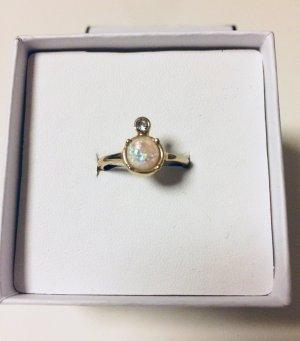 Orelia Modeschmuck Ring synthetischer Opal
