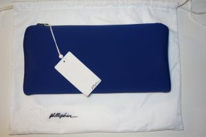 3.1 Phillip Lim Borsa clutch blu scuro