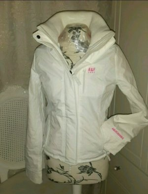 Org.  Abercrombie& fitch Winter Jacke Neon Pink weiß S 34