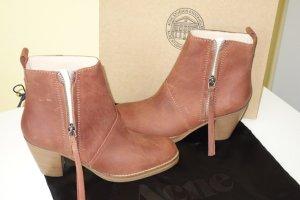 Org. ACNE Pistol Boots terracotta vintage Look Gr.40 NEU+Karton