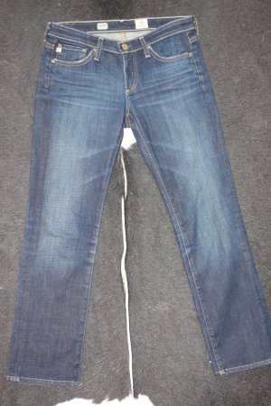 Adriano Goldschmied Straight Leg Jeans dark blue