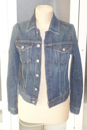 AG Jeans Denim Jacket dark blue