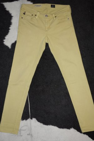 "Org. AG Adriano Goldschmied ""The Legging Ankle"" super skinny Jeans in gelb Gr. 27"