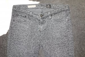 "Org. AG Adriano Goldschmied ""The Legging Ankle"" super skinny mit Animalprint"
