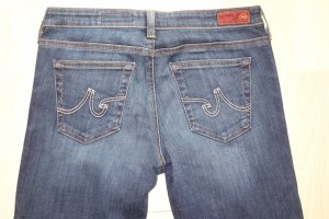 "Org. AG Adriano Goldschmied ""the Stilt"" cigarette leg Jeans in dunkelblau Gr.27"