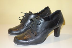 Aigner Booties black leather
