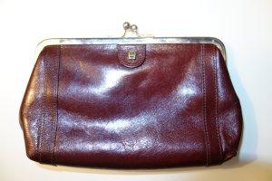 1ddc784e1df6a Org. AIGNER vintage Portemonnaie in rotbraun